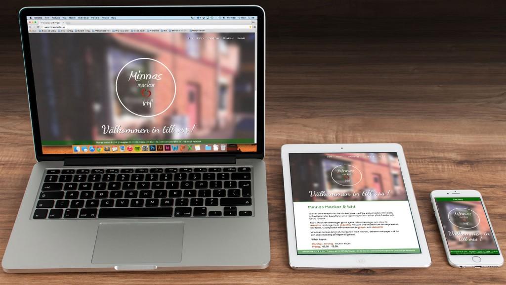 webbdesign för minnas mackor