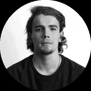 Emil Lindström svartvit