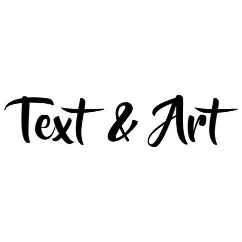 Text & Art